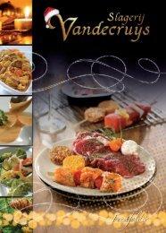 Bekijk hier de nieuwe feestfolder 2011-2012! - Slagerij Vandecruys