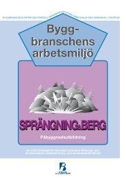 Transport av explosiv vara - Publikationer från Sveriges Byggindustrier