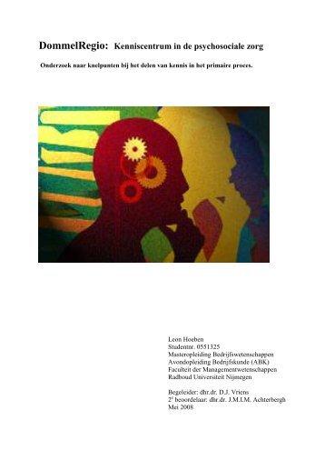 onderzoeksverslag - Hoeben Interim Management