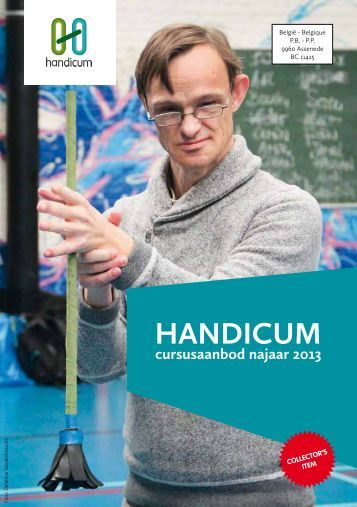 Cursusaanbod najaar 2013 - Handicum