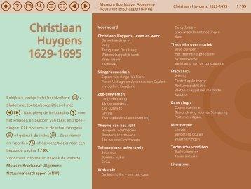 Christiaan Huygens, 1629-1695 - Museum Boerhaave