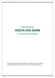 HOSTA HOS BARN