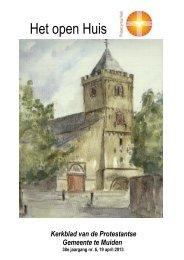 Het open Huis - Grote Kerk Muiden