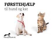 FØRSTEHJÆLP til hund og kat - Dyrefondet
