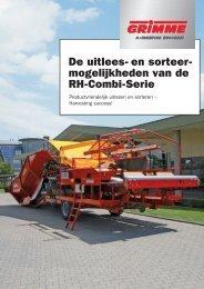 De uitlees- en sorteer- mogelijkheden van de RH-Combi ... - Zonna