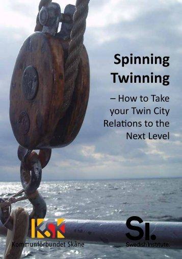 Spinning Twinning