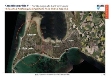 ÖP_Del 6 Karaktärsområden med röd markering ... - Vellinge kommun