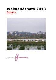 Ontwerpwelstandsnota 2013 - Gemeente Heerenveen