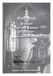 Werken aan de kerken in Delden 2011-2012 - Heilige Geest Parochie