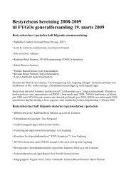 Bestyrelsens beretning 2008-2009 - fygo.dk