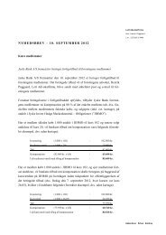 nyhedsbrev – 10. september 2012 - Foreningen af Investorer i Jyske ...