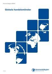 Globala handelsmönster - Kommerskollegium