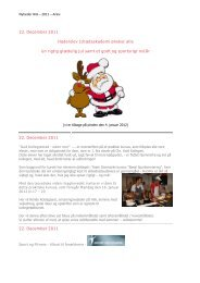 Hent samlet oversigt over nyheder 2011 her - Haderslev ...