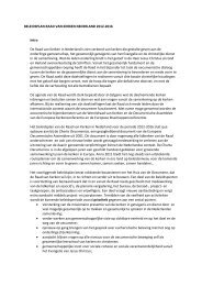 Beleidsnota Raad van Kerken Nederland 2012 - 2016 - Kerkplein ...