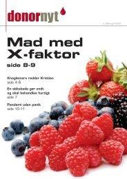 Mad med X-faktor - Bloddonorerne i Danmark