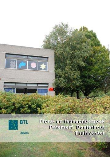 Flora- en faunaonderzoek Paterserf, Oosterhout Thuisvester, BTL ...