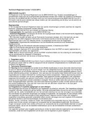 Technisch Reglement M3 Cup - E46 M3 Cup