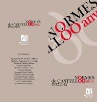 Hi col·laboren: Ajuntament de Castelló de la Plana Acadèmia ...