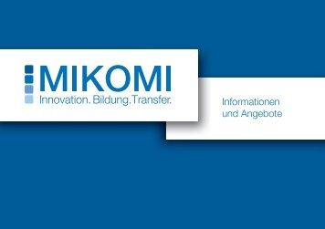 Unsere Broschüre zum Download - MIKOMI - Hochschule Mittweida