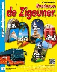 Zomerbrochure 2013 - De Zigeuner