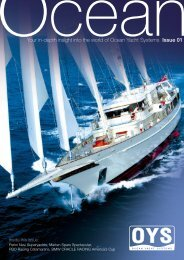 Inside this issue: - Ocean Yacht Systems