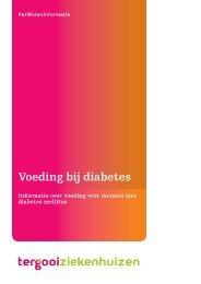 Voeding bij diabetes [221kb] Diëtetiek - Tergooi
