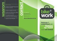 Download onze folder - Bike @ Work