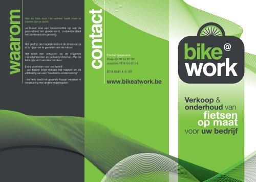 Download onze folder - Bike @ Work