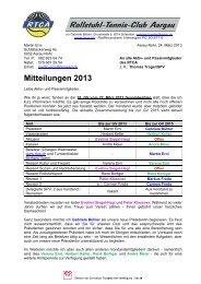 Rundschreiben Nr. 1 / 2013 - RTCA