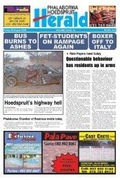Hoedspruit's highway hell - Letaba Herald