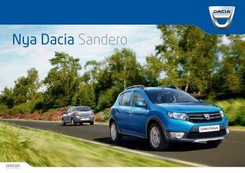 Broschyr Nya Dacia Sandero (PDF)