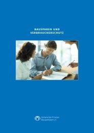 Bausparen und Verbraucherschutz - Verband der privaten ...