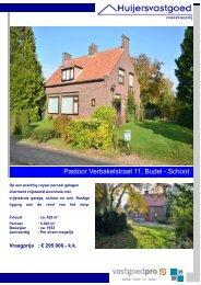 Brochure Pastoor Verbakelstraat 11 Budel - Schoot.pub - Huijers ...