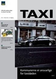 Kommunerne er ansvarlige for taxidøden - Dansk Taxi Råd
