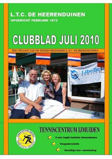 Clubblad Juli - LTC De Heerenduinen