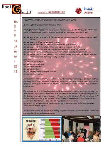 rooielijn 2013 nr 2 - Oldambt - PvdA