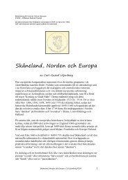 Skåneland, Norden och Europa - Scania Skåneland
