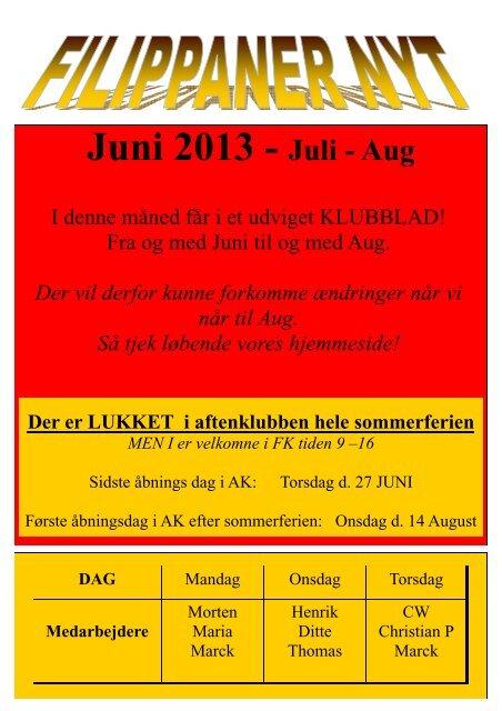 5. juni juli aug 2013