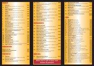 bekijk de actuele menukaart - Mamoura Plaza Neede