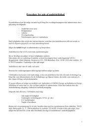 Procedure for salg af andelslejlighed - AB Gunløgs
