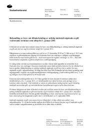 Skattedirektoratet Behandling av krav om ... - Skatteetaten