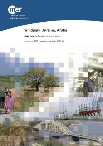 Advies Windpark Urirama Aruba