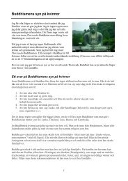 Buddhismens syn på kvinnor, - BuddhismInfo.se