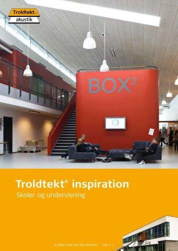 Troldtekt® inspiration - Tepo