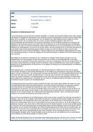 2003 titel: Investeren in Deltametropool loont medium: Binnenlands ...