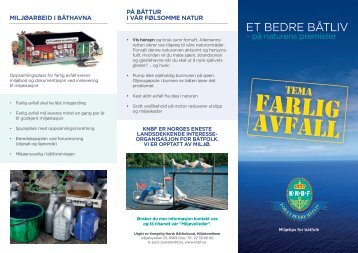 Farlig avfall - Kongelig Norsk Båtforbund