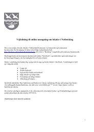 Vejledning til online ansøgning om lokaler i Netbooking - Interbook ...