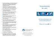 Finanzdienstleistungen und Verbraucherschutz - Verband der ...