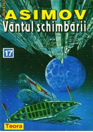 Asimov – vantul schimbarii - CARTE BUNA