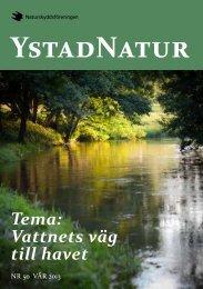 Medlemstidning nr 50 Vår 2013 - Naturskyddsföreningen